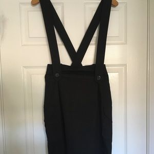 Heart Moon Star High Waisted Skirt w/Suspenders